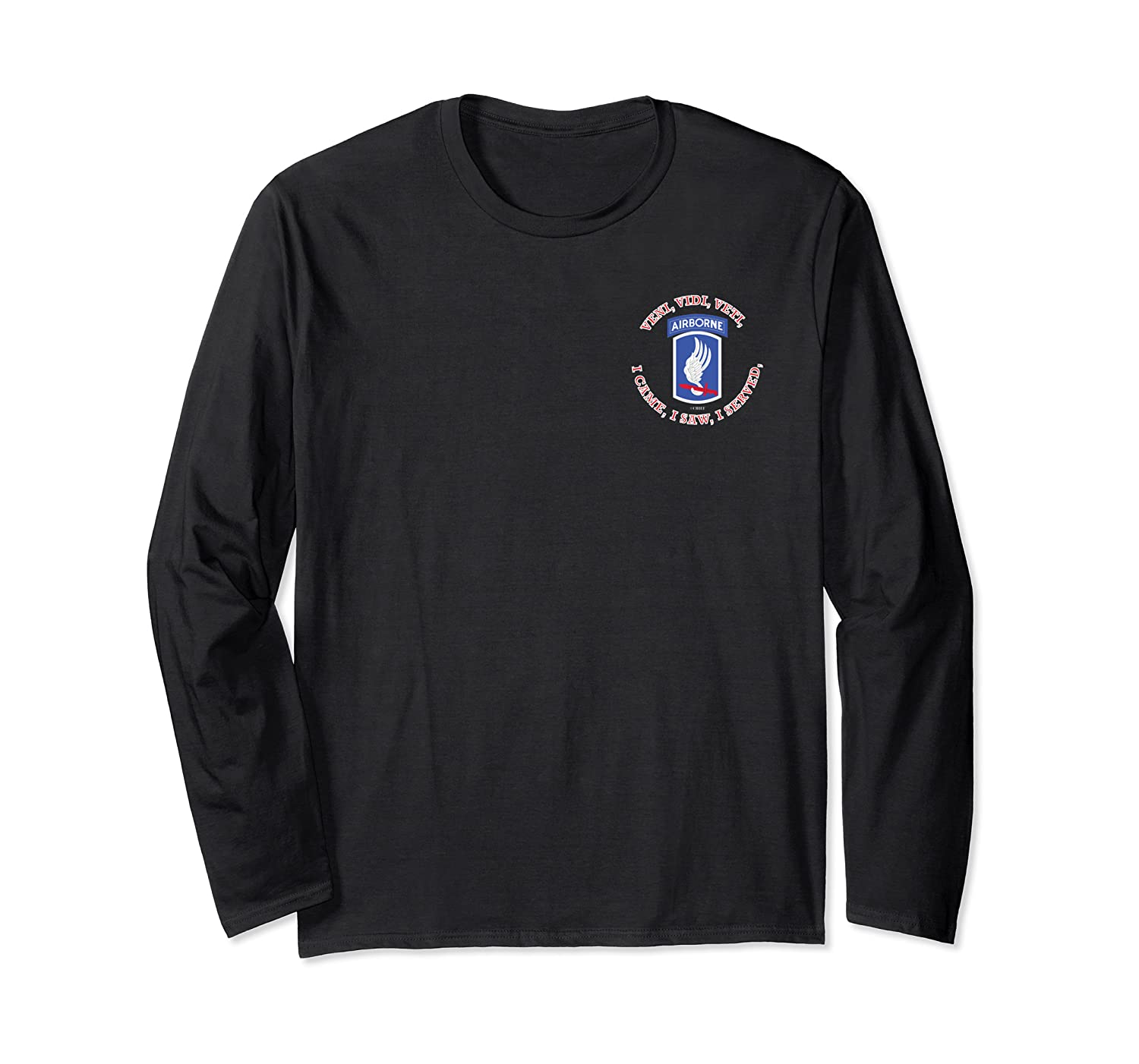 173rd Airborne Brigade Sky Soldiers Long Sleeve T-shirt