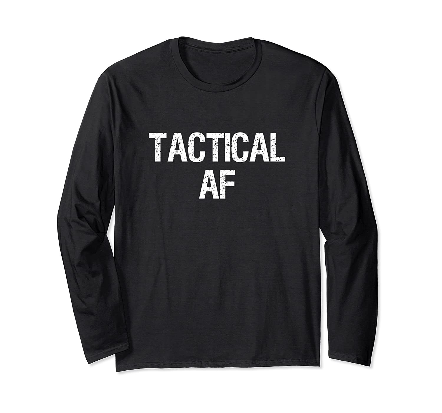 Tactical Af Military Army Operator Police Shirt Long Sleeve T-shirt